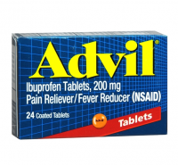 Advil 200 mg Coated Caplets 24 ea [305730160209]