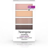 Neutrogena Nourishing Long Wear Eye Shadow + Built-in Primer, Classic Nude [60] 0.24 oz [086800437390]