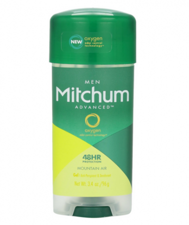 Mitchum Advanced Gel Anti-Perspirant & Deodorant, Mountain Air 3.4 oz [309978634003]