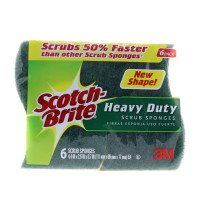 Scotch-Brite Heavy-Duty Scrub Sponge 6 ea [051131936812]