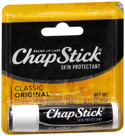 ChapStick Lip Balm Regular 0.15 oz [036600813313]