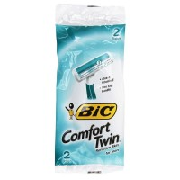 Bic Comfort Twin Shavers for Men, with Aloe 2 ea [070330707764]