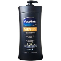 Vaseline Men Healing Moisture Lotion Unscented 20.3 oz [305210177239]