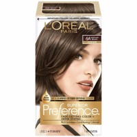 L'Oreal Superior Preference Permanent Hair Color, 6A Light Ash Brown (Cooler) 1 ea [071249253113]