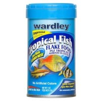 Wardley Tropical Fish Flake Food 1 oz [043324015152]