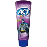 ACT Kids Batman Toothpaste, Fruit Punch  4.6 oz [041167092316]