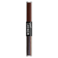 NYX Midnight Chaos Dual Ended Eyeliner, Midnight Rouge [Rust] 0.2 oz [800897172220]