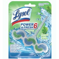 Lysol Power & Fresh 6 Automatic Toilet Bowl Cleaner - Forest Dew 1 ct. [019200960830]