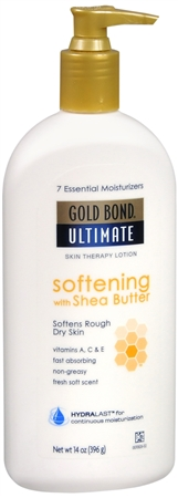 Gold Bond Ultimate Softening Skin Therapy Lotion 14 oz [041167066546]