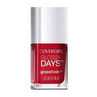 Cover Girl  Glossy Days Glosstinis Nail Polish, Raving Hot [650] 0.11 oz [046200000082]
