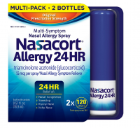 Nasacort Nasal Spray, 240 ct [041167580028]