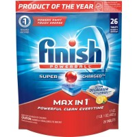 Finish Powerball Tab - Max in 1 Ultra-Degreaser with Lemon 26 ct [051700952786]