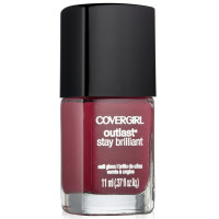 CoverGirl Outlast Stay Brilliant Nail Gloss, [270] Crushed Berries, 0.37 oz [008100007707]