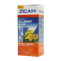 Zicam Gentle Allergy Relief Nasal Swabs with Cooling Menthol, 15 ea [732216301151]