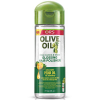 Organic Root Stimulator Anti-Frizz Olive Oil Glossing Polisher, 6 oz [632169111145]