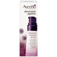 AVEENO Active Naturals Absolutely Ageless Intensive Renewal Serum, Blackberry 1 oz [381371163809]