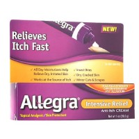 Allegra Intensive Relief Anti Itch Cream 1 oz [041167426609]