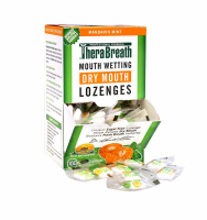 TheraBreath Mouth Wetting Lozenges, Mandarin Mint 100 ea [697029471005]