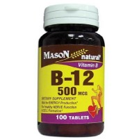 Mason Natural Vitamin B-12 500 mcg Tablets 100 ea [311845057617]