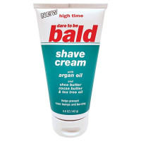 High Time Dare To Be Bald Shave Cream  5 oz [043429808284]