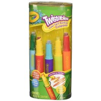 Crayola Twistables Color Swirl Bathtub Crayons, Assorted Colors 5 ea [692237046496]