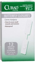 Curad Butterfly Closures 12 Each [080196320830]