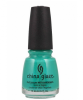 China Glaze Nail Polish, Turned Up Turquoise, 0.5 oz [019965888486]