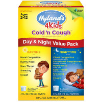 Hyland's 4 Kids Cold'n Cough Day & Night Value Pack 4 oz, 2 ea [354973317710]