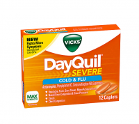 Vicks DayQuil Severe Cold & Flu Caplets, 12 ea [323900038080]