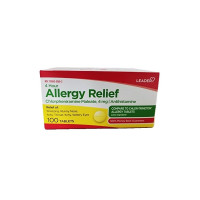 Leader 4 Hour Allergy Relief, 100 ea  [096295129892]