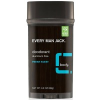 Every Man Jack  Deodorant, Fresh Scent 3 oz [878639000292]