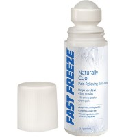 Fast Freeze Naturally Cool Pain Relief Roll-On 3 oz [038481009632]