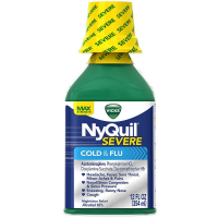Vicks NyQuil Severe Nighttime Cold & Flu Relief Liquid 12 oz [323900038424]