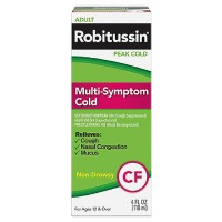 Robitussin Adult Multi-Symptom Non-Drowsy Cold Liquid 4 oz [300318742143]