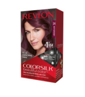 Revlon ColorSilk Hair Color 34 Deep Burgundy 1 Each [309978695349]
