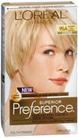 L'Oreal Superior Preference - 9-1/2A Lightest Ash Blonde (Cooler) 1 Each [071249253281]