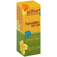 Alba Botanica Hawaiian Eye Gel, Revitalizing Green Tea 1 oz [724742008161]
