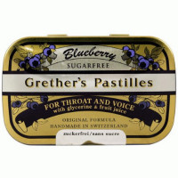 Grether's Blueberry Pastilles Sugarfree 3.75 oz [742381046733]