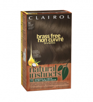 Natural Instincts Brass Free Hair Color, Medium Brown [5C] 1 ea [381519028014]
