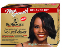 Dr. Miracle's New Growth Intensive No-Lye Relaxer Kit Regular, 1 ea [897127000491]