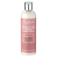 Shea Moisture Peace Rose Sensitive Skin Creme Body Wash 13 oz [764302216087]