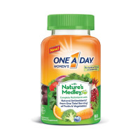 One A Day  Women's with Nature's Medley Complete Multivitamin Gummies, 60 ea [016500574323]