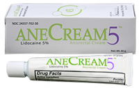 Anecream 5 - 5% Lidocaine Anorectal Anesthetic Pain Relief Cream 30 g [24357070230]