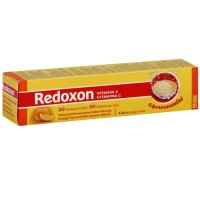 Redoxon Orange Flavored Vitamin C Effervescent Tablets 20 ea [894162000707]