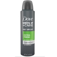 Dove Men + Care Dry Spray Antiperspirant, Extra Fresh 3.8 oz [079400350695]