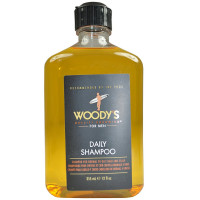 Woody's  Daily Shampoo For Men 12 oz [859999905335]