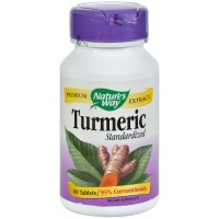 Nature's Way Turmeric Standardized Dietary Supplement Tablets, 500mg 60 ea [033674631003]