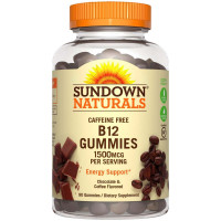 Sundown Naturals Vitamin B-12 Gummies 1500 mcg 90 ea [030768588021]