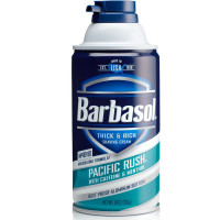 Barbasol Beard Buster Shaving Cream Pacific Rush 11 oz [051009009686]