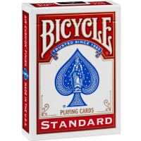Bicycle Poker Size Standard Index Playing Cards 1 ea [073854008089]
